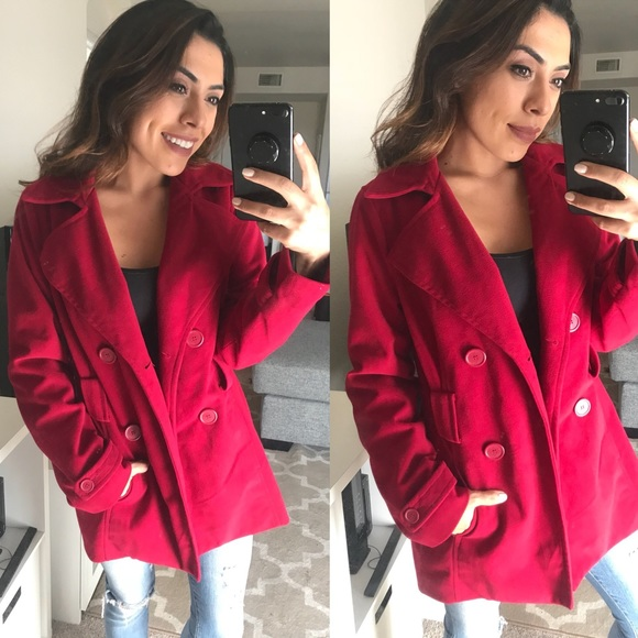 Jackets & Blazers - Pink Peacoat